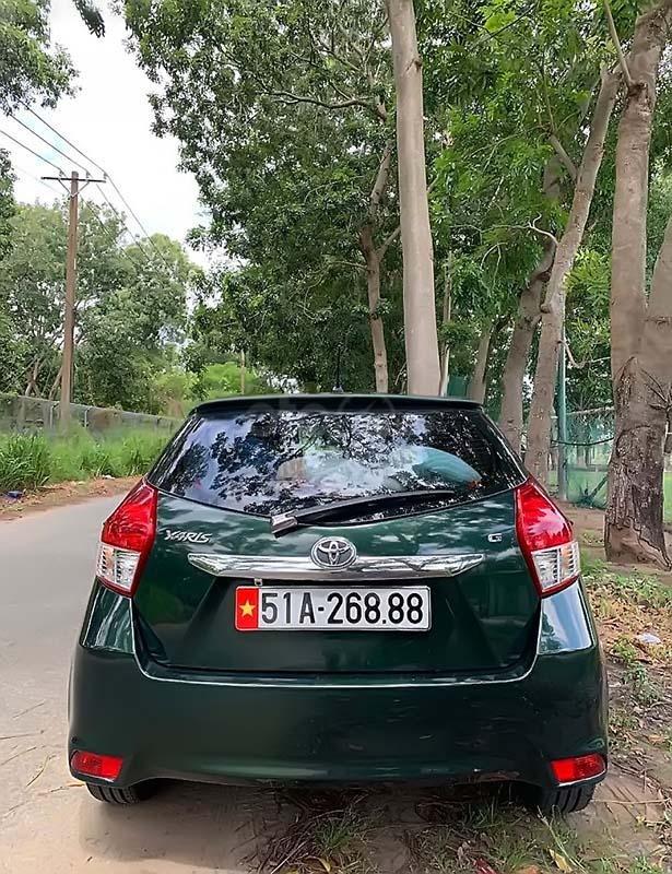 Bán xe Toyota Yaris 1.3G năm 2014, màu xanh lam, nhập khẩu  (2)