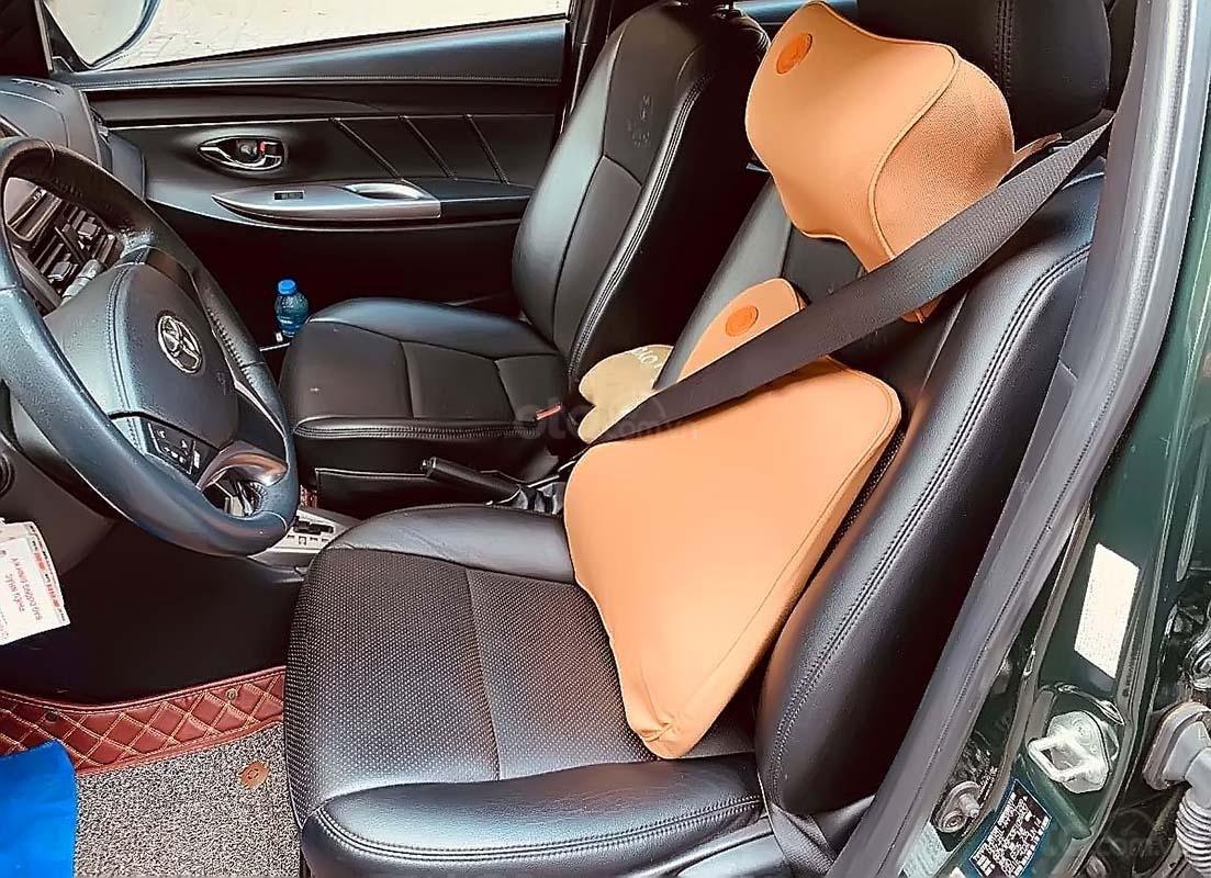 Bán xe Toyota Yaris 1.3G năm 2014, màu xanh lam, nhập khẩu  (4)