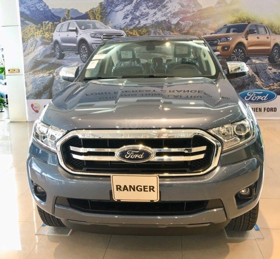 Bán Ford Ranger XLT 4x4 số tay, màu xanh thiên thanh, nhập khẩu nguyên chiếc, giá 654 triệu - Liên hệ 0979077936 (2)
