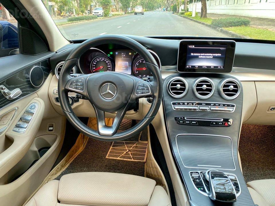 MBA Auto - Bán xe Mercedes C200 xanh/kem 2018 cũ giá tốt - trả trước 450 triệu nhận xe ngay (10)