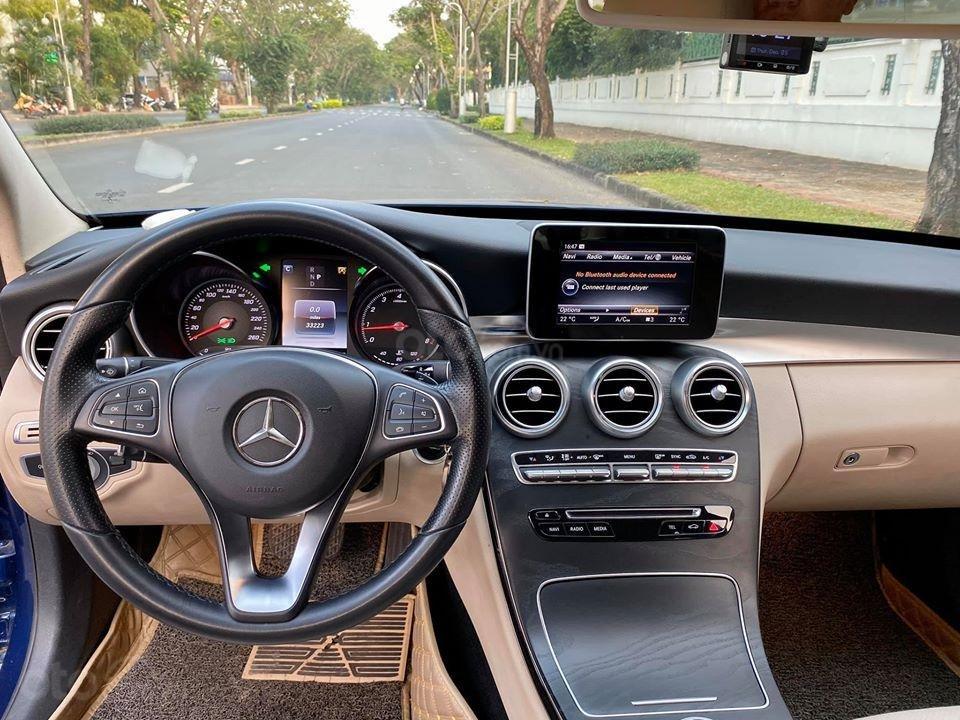 MBA Auto - Bán xe Mercedes C200 xanh/kem 2018 cũ giá tốt - trả trước 450 triệu nhận xe ngay (6)