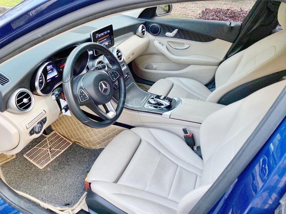 MBA Auto - Bán xe Mercedes C200 xanh/kem 2018 cũ giá tốt - trả trước 450 triệu nhận xe ngay (4)