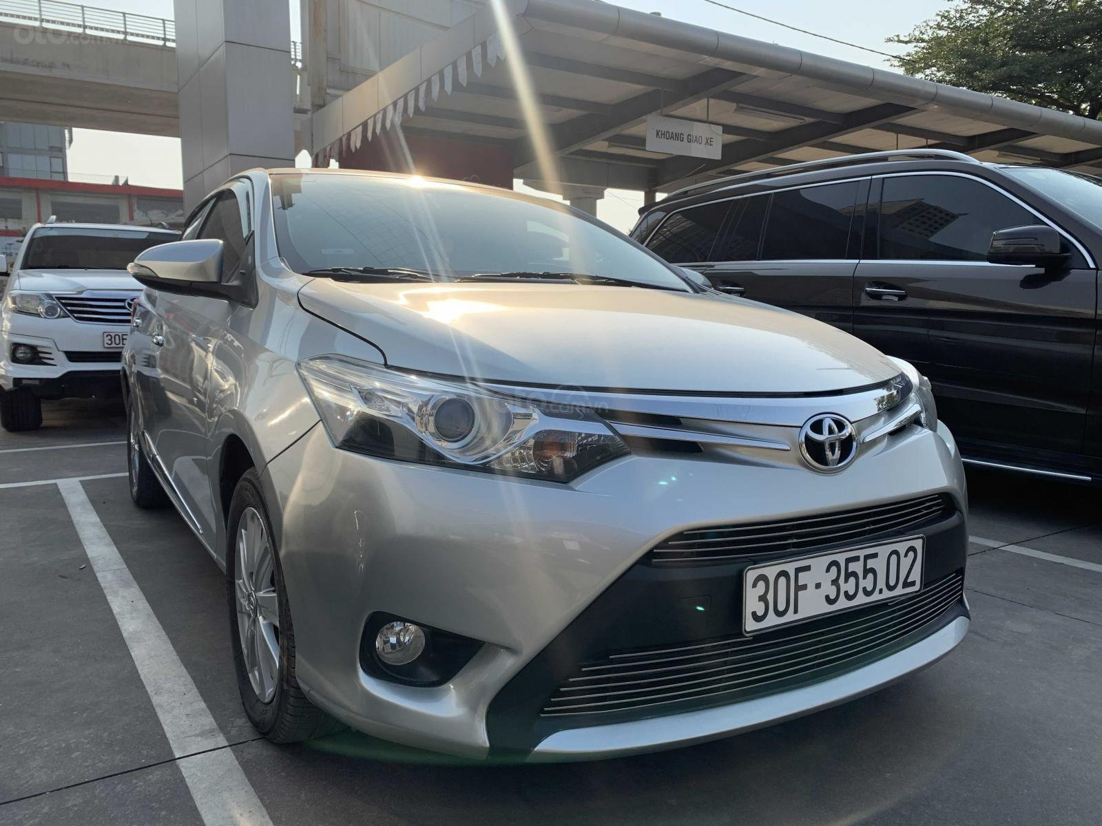 Bán Toyota Vios G 1.5AT 2014 biển Hà Nội (1)