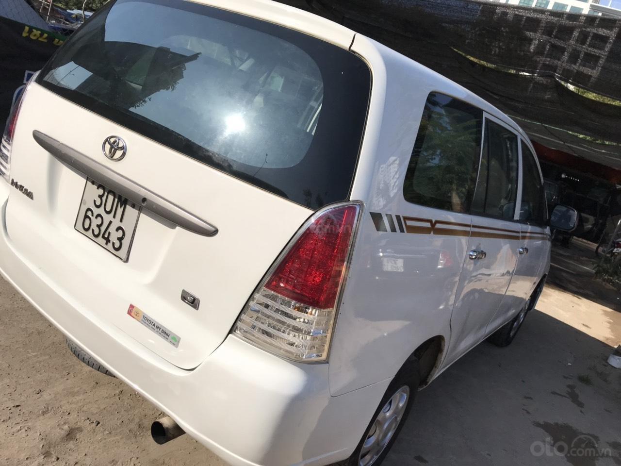 Bán xe Toyota Innova đời 2008, màu trắng, liên hệ 0961100781 (3)