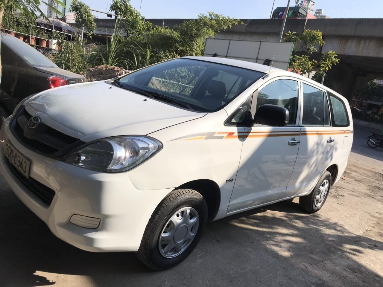Bán xe Toyota Innova đời 2008, màu trắng, liên hệ 0961100781 (1)