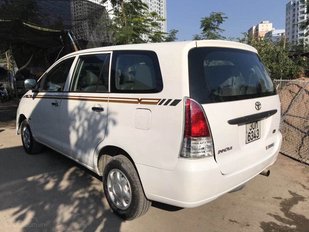 Bán xe Toyota Innova đời 2008, màu trắng, liên hệ 0961100781 (7)