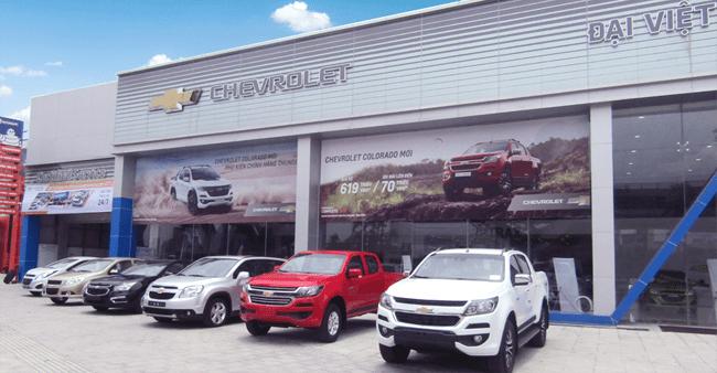 Hãng xe Chevrolet của nước nào? Giá xe Chevrolet mới nhất tại Việt Nam 4a