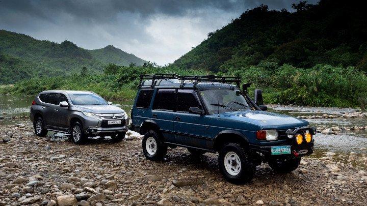 Các mẫu xe off-road đời mới đã hiện đại hơn rất nhiều.