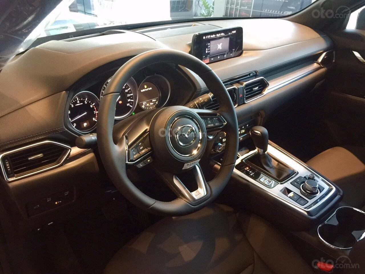 Cần bán nhanh chiếc xe Mazda CX-8 Premium AWD năm sản xuất 2019, màu trắng - Giao xe tận nhà miễn phí (8)