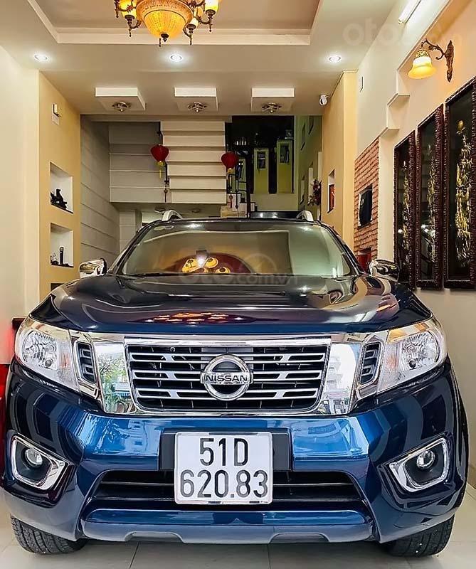 Bán Nissan Navara EL A-IVI 2.5 AT 2WD 2019, màu xanh lam, nhập khẩu, số tự động  (1)
