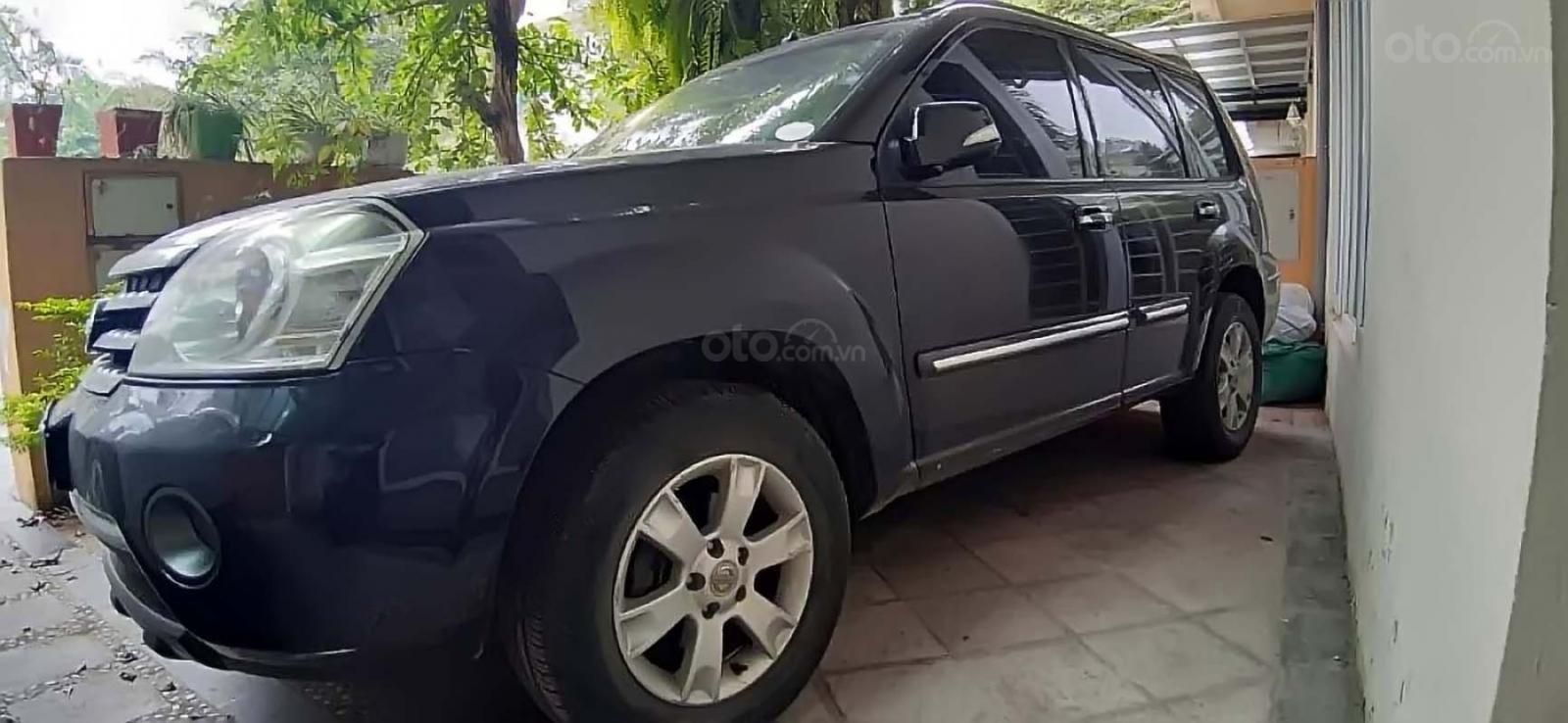 Bán Nissan X trail đời 2009, màu đen, xe nhập, giá tốt (2)