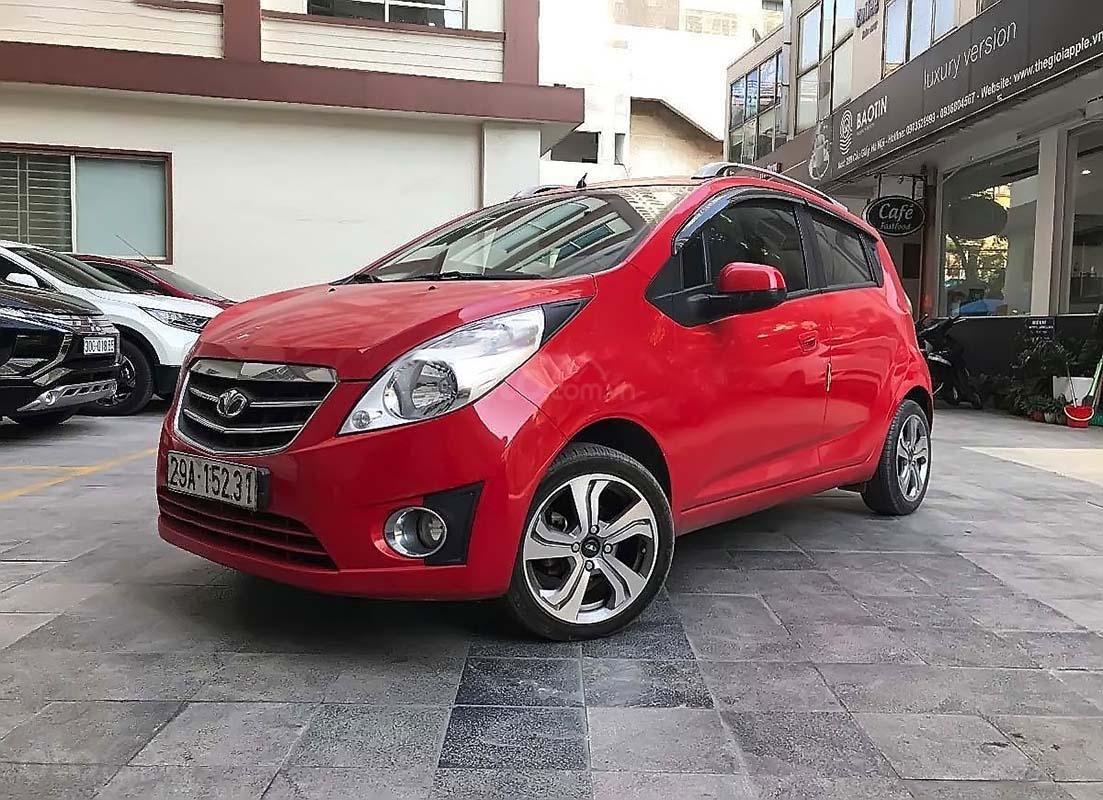Cần bán lại xe Daewoo Matiz đời 2009, màu đỏ, nhập khẩu nguyên chiếc chính hãng (1)