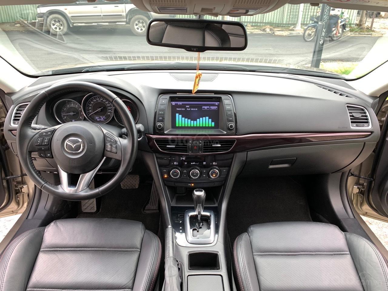 Bán Mazda 6 2.5AT, sản xuất 2015, xe một đời chủ mua mới. LH: 0947737172 (6)