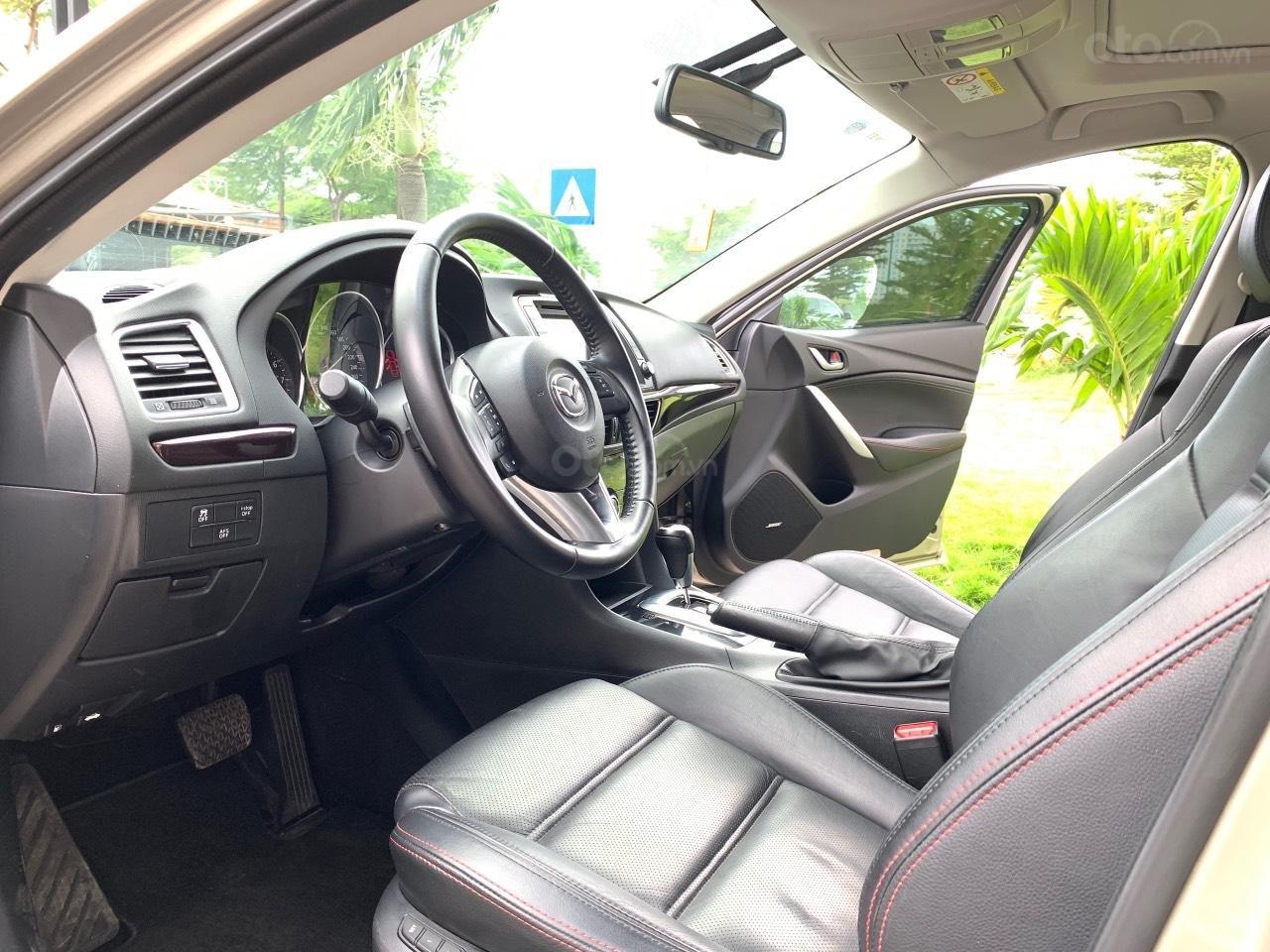 Bán Mazda 6 2.5AT, sản xuất 2015, xe một đời chủ mua mới. LH: 0947737172 (7)