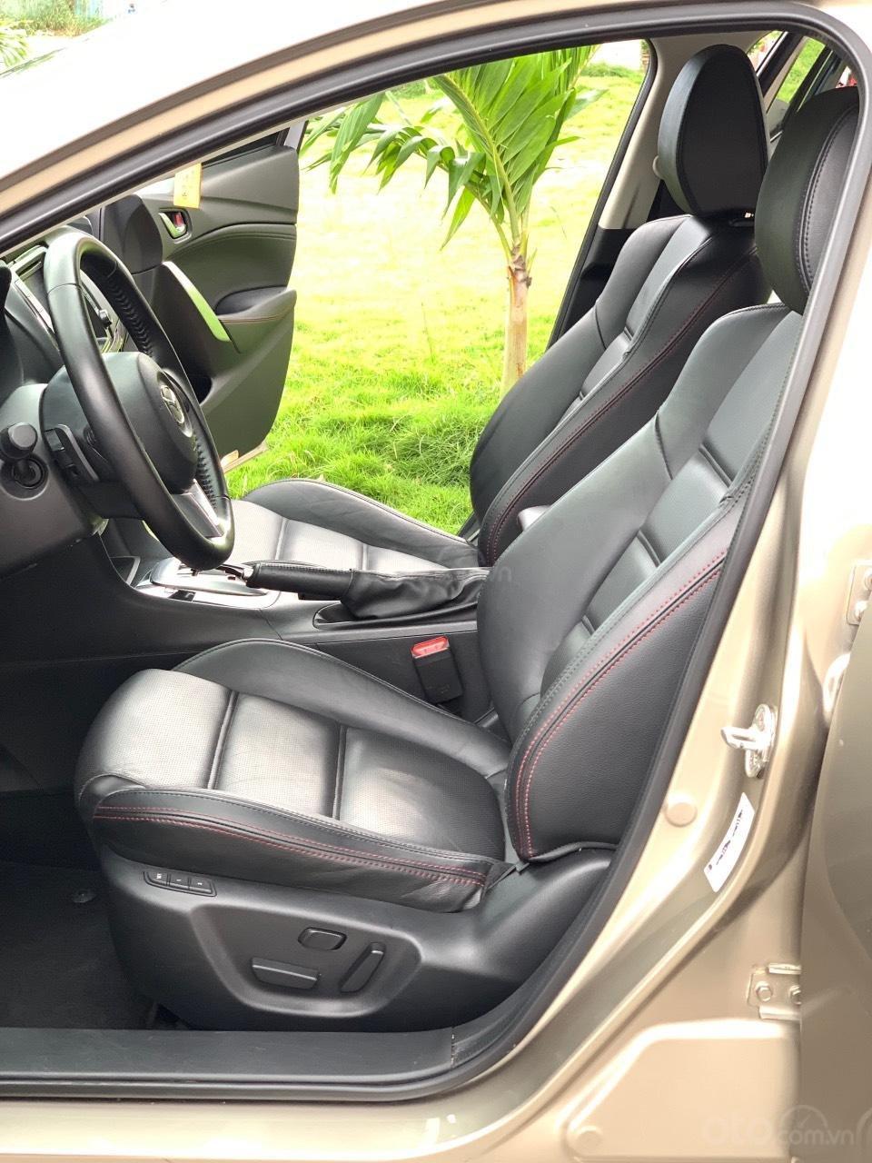 Bán Mazda 6 2.5AT, sản xuất 2015, xe một đời chủ mua mới. LH: 0947737172 (10)