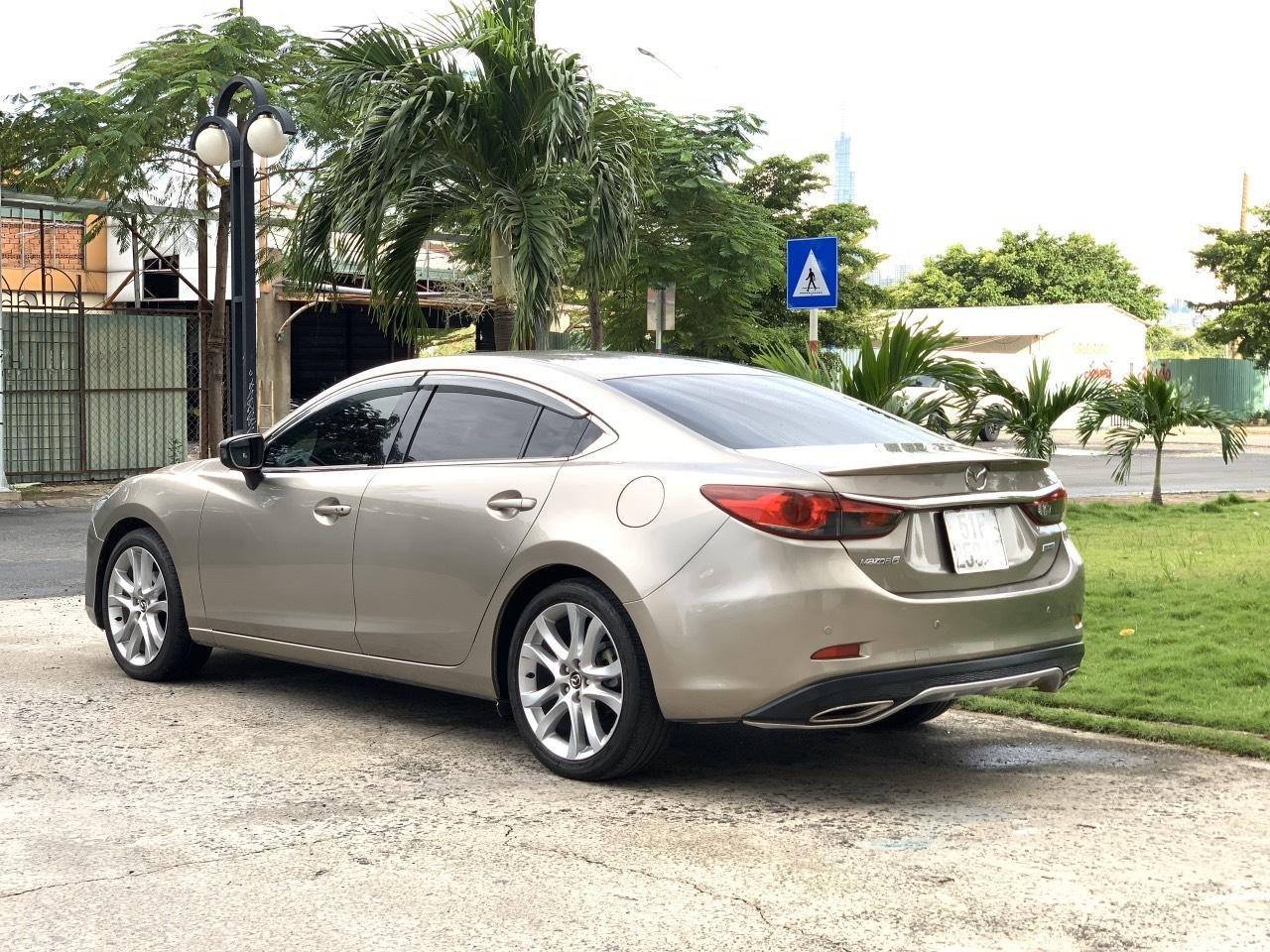 Bán Mazda 6 2.5AT, sản xuất 2015, xe một đời chủ mua mới. LH: 0947737172 (4)