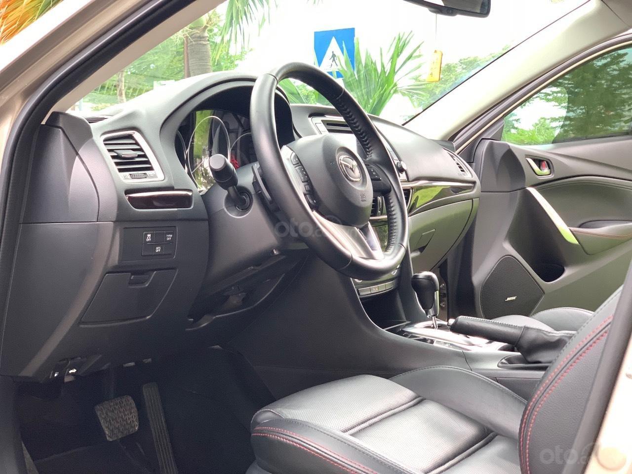 Bán Mazda 6 2.5AT, sản xuất 2015, xe một đời chủ mua mới. LH: 0947737172 (8)