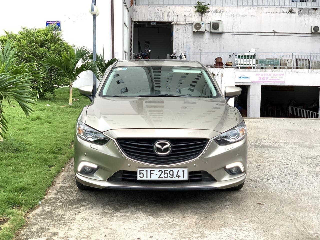 Bán Mazda 6 2.5AT, sản xuất 2015, xe một đời chủ mua mới. LH: 0947737172 (1)