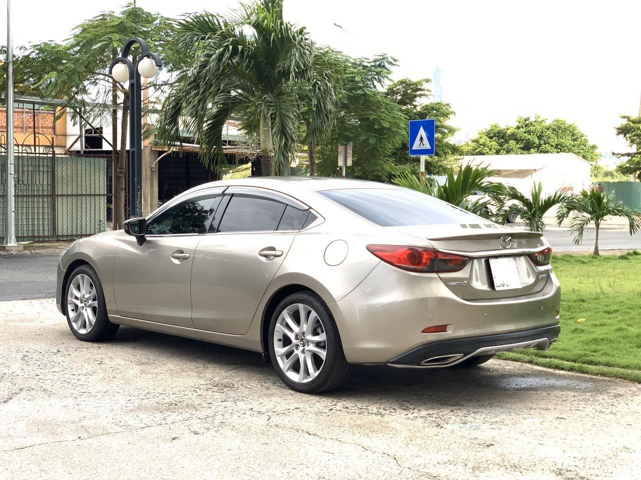 Bán Mazda 6 2.5AT, sản xuất 2015, xe một đời chủ mua mới. LH: 0947737172 (12)