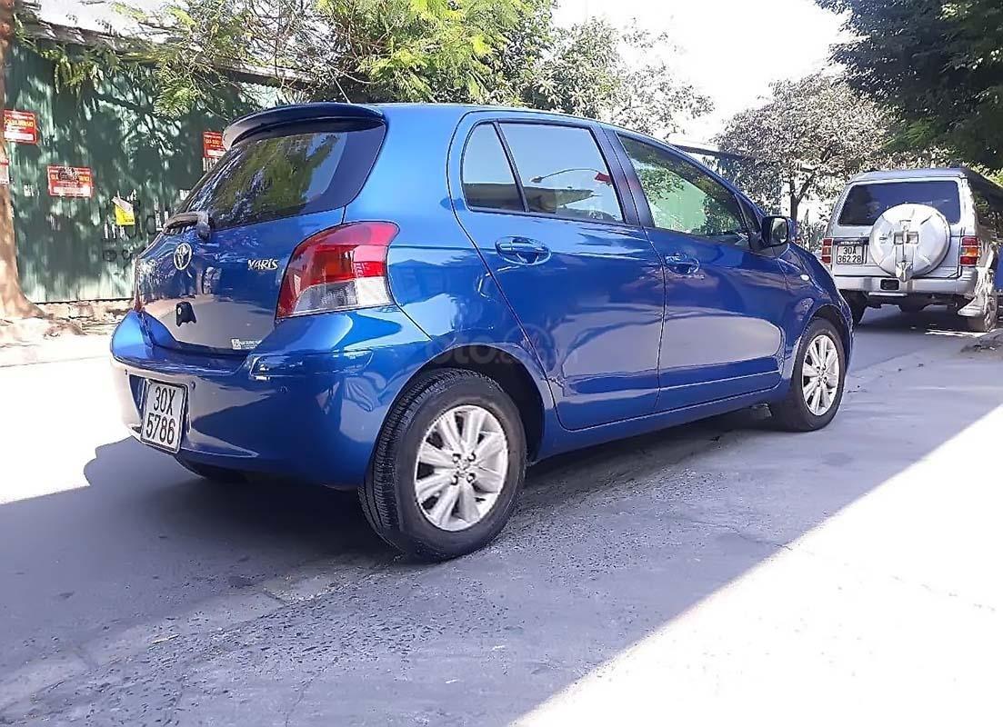 Cần bán lại xe Toyota Yaris năm sản xuất 2010, màu xanh lam, nhập khẩu chính hãng (2)
