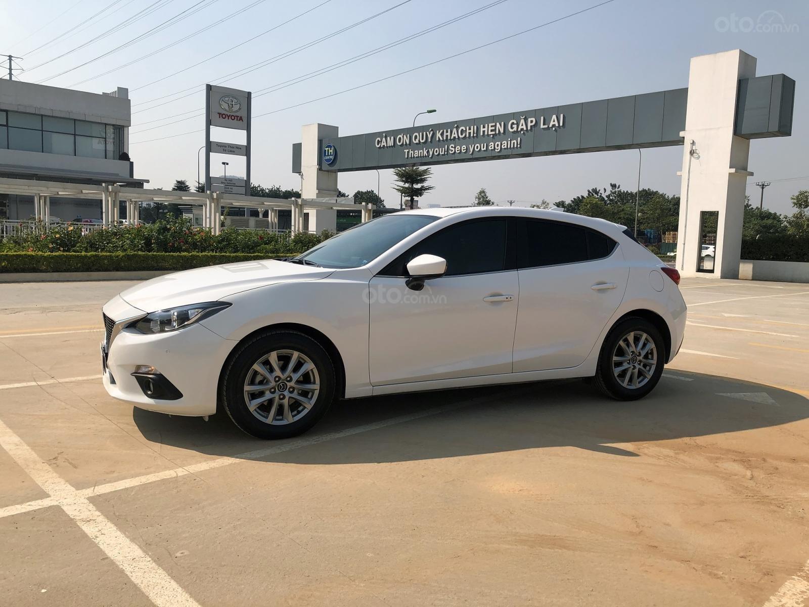 Bán xe Mazda 3 1.5 Hatchback AT năm sản xuất 2016, màu trắng (5)