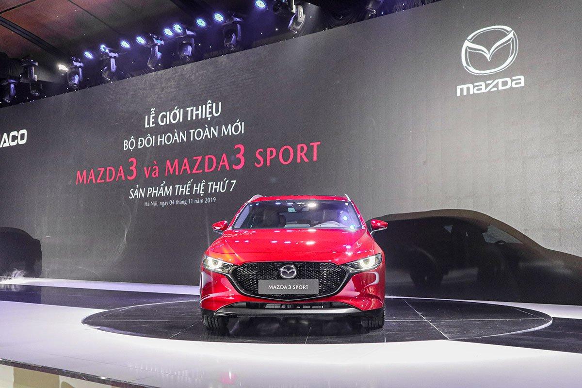 Thiết kế mới trên Mazda 3 2020 - đầu xe.