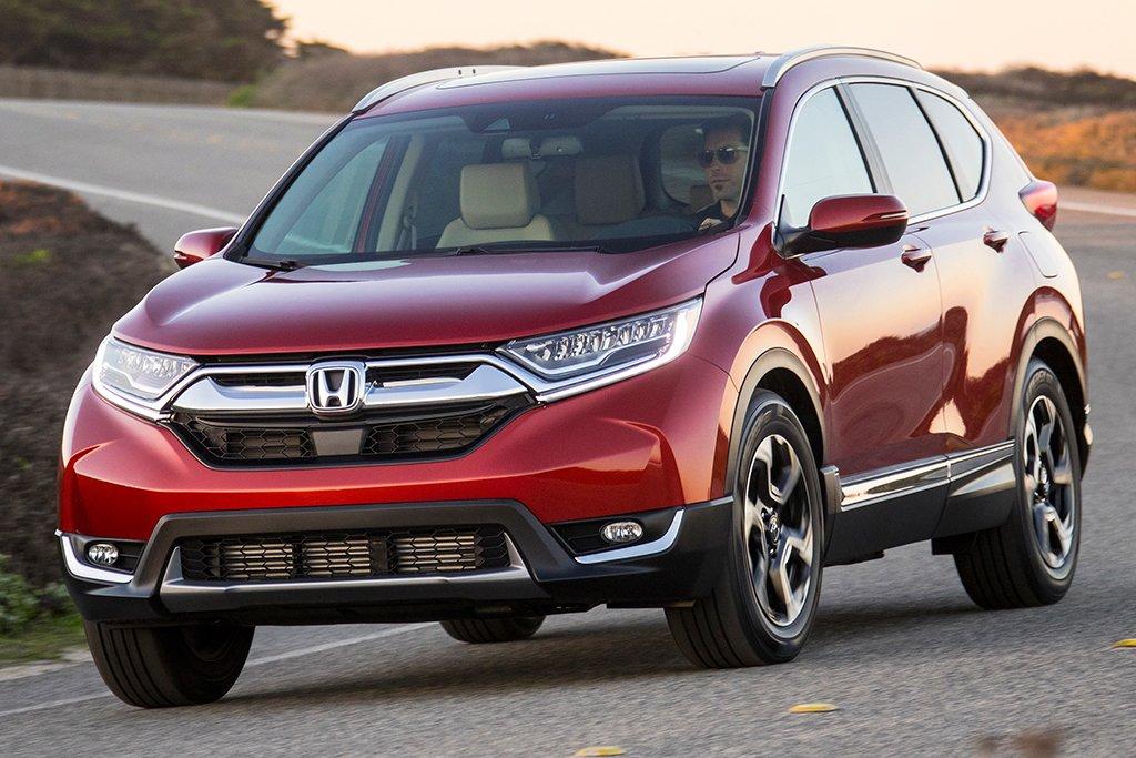 Honda CR-V giữ vị trí đầu bảng phân khúc CUV 1