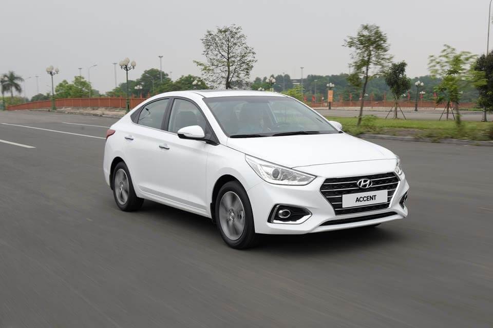 Mẫu xe chủ lực phân khúc hạng B của Hyundai - Hyundai Accent 1