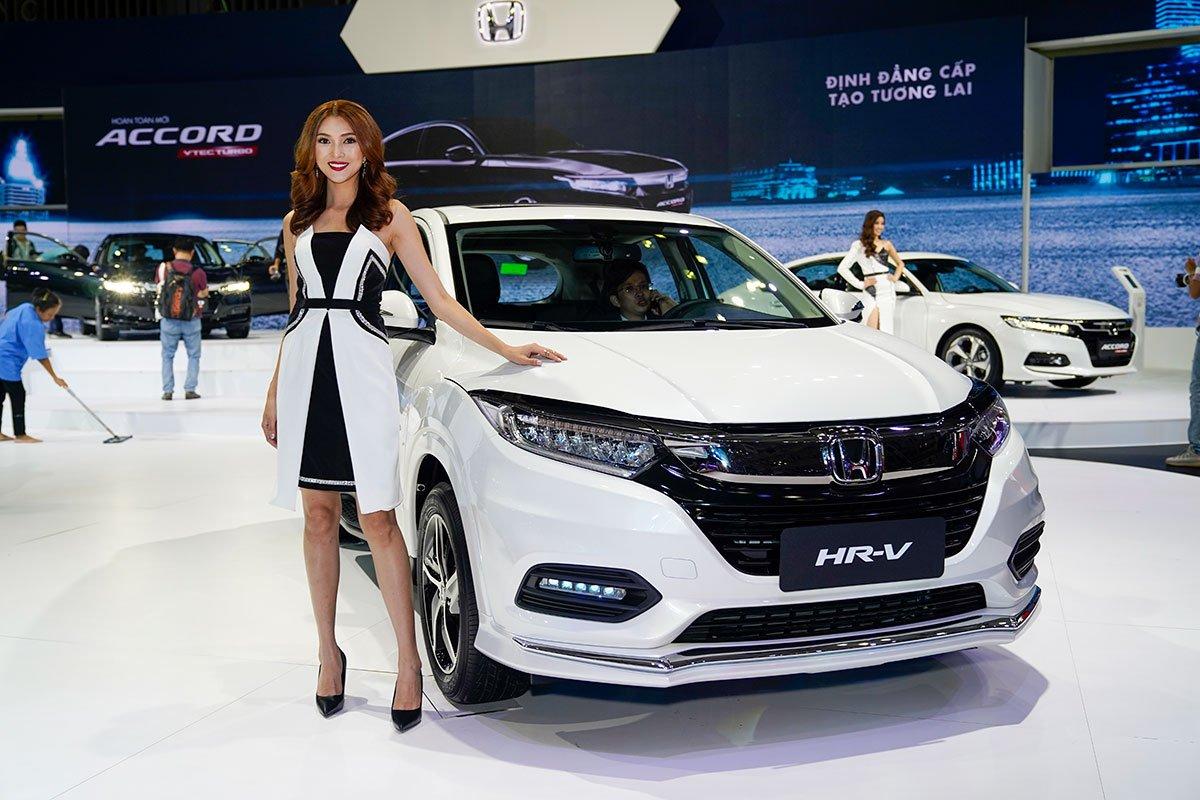 HondaHR-V 2019 màu trắng a5