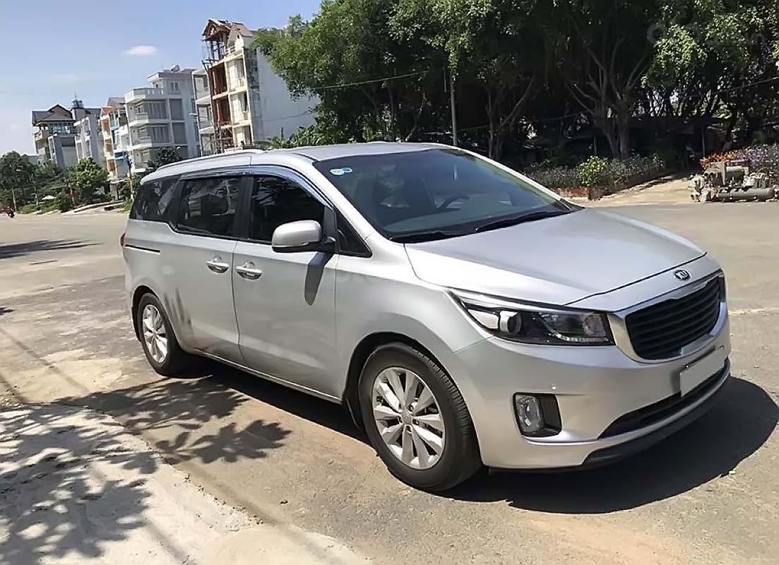 Bán Kia Sedona 2.2L DAT đời 2014, màu bạc, nhập khẩu  (1)
