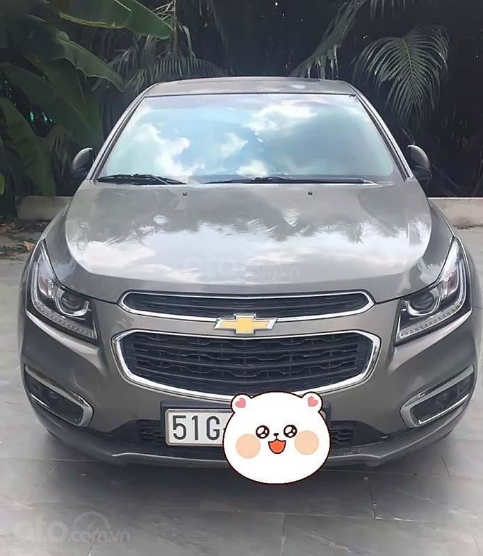 Bán xe Chevrolet Cruze LTZ 1.8L đời 2018, màu xám (1)