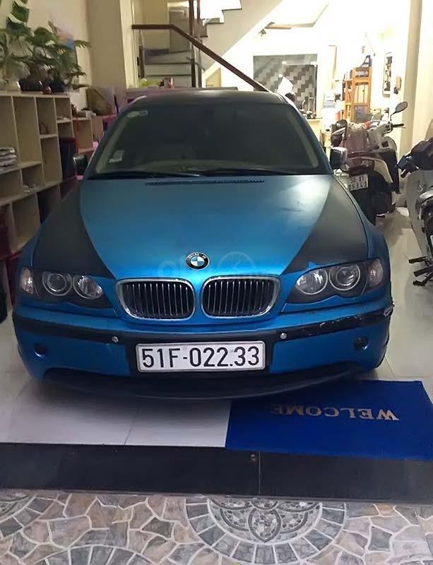 Cần bán gấp BMW 325i đời 2005, màu đen, nhập khẩu   (1)