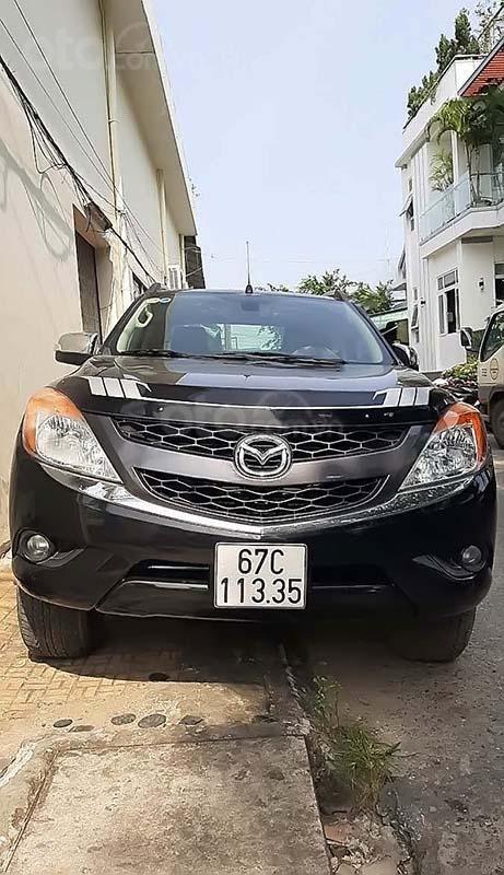 Bán Mazda BT 50 3.2L 4x4 AT 2013, màu đen, nhập khẩu, số tự động  (1)
