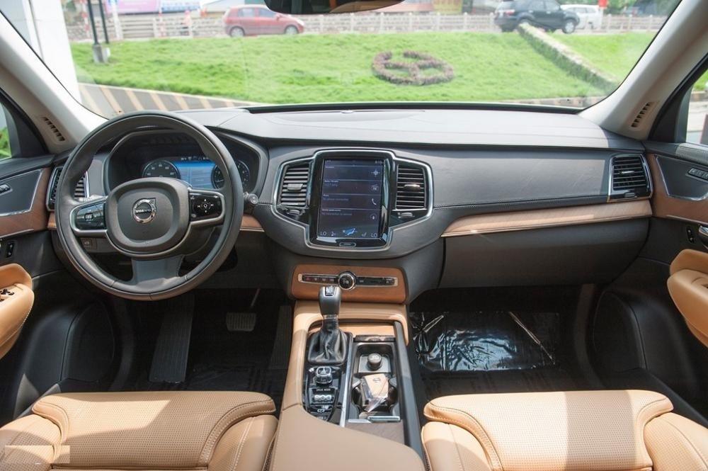 Nội thất xe Volvo XC90 2021