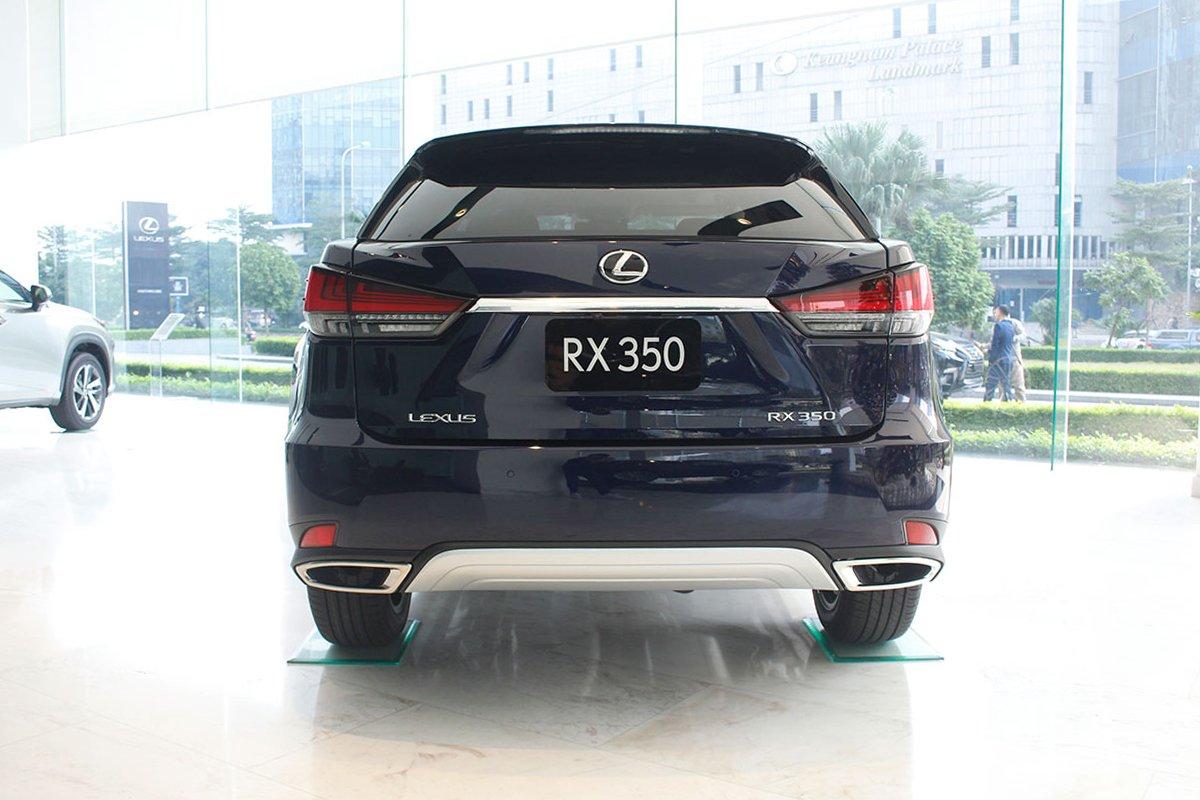 Hình ảnh đuôi xe Lexus RX350 2020: