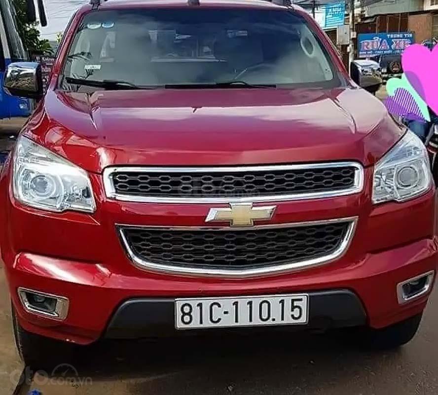 Bán xe Chevrolet Colorado năm sản xuất 2016, màu đỏ, nhập khẩu chính hãng (1)