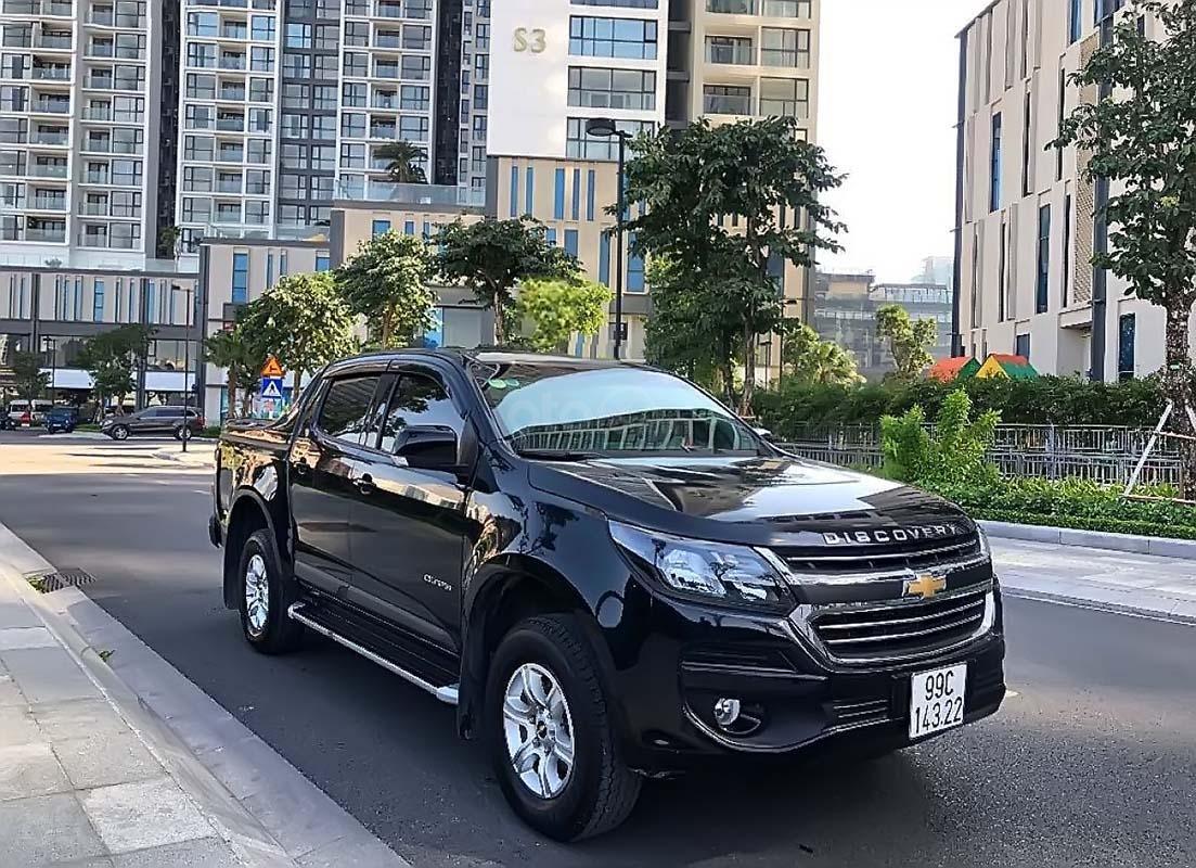 Cần bán lại xe Chevrolet Colorado năm sản xuất 2018, màu đen, xe nhập chính hãng (1)