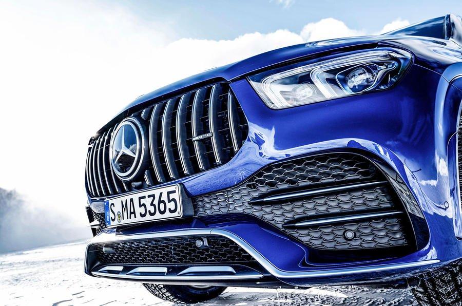 Đánh giá xe Mercedes-AMG GLE 53 2020: lưới tản nhiệt