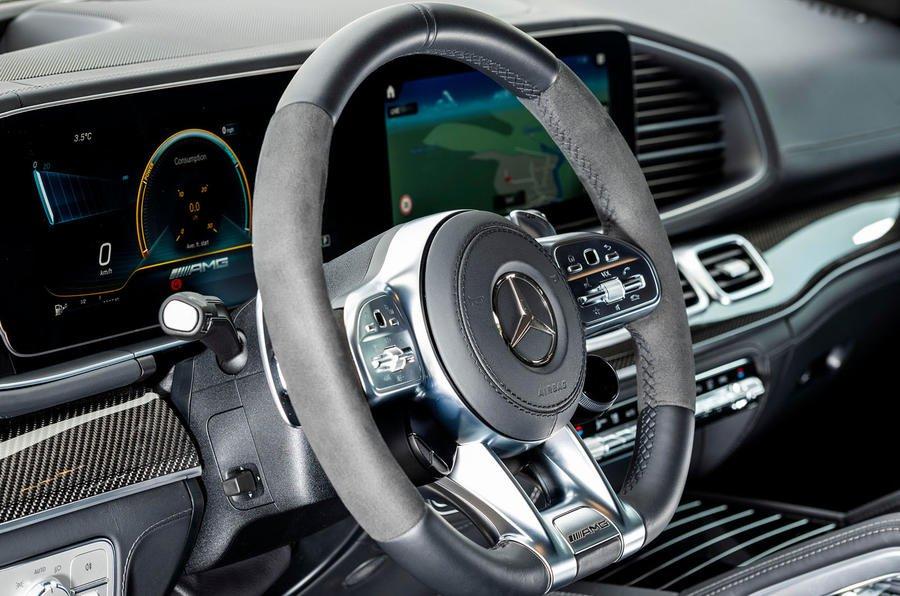 Đánh giá xe Mercedes-AMG GLE 53 2020: cận cảnh vô-lăng
