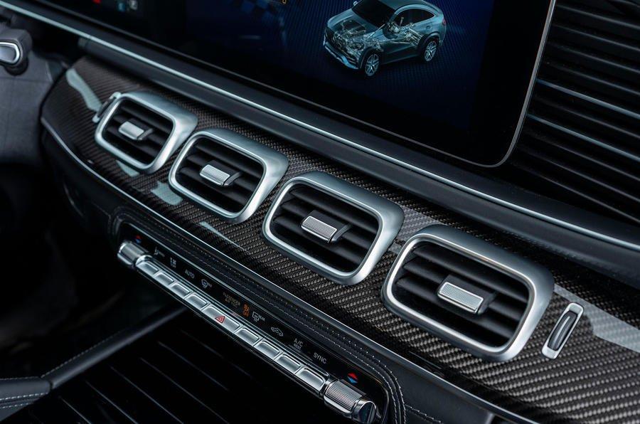 Đánh giá xe Mercedes-AMG GLE 53 2020: hốc hút gió