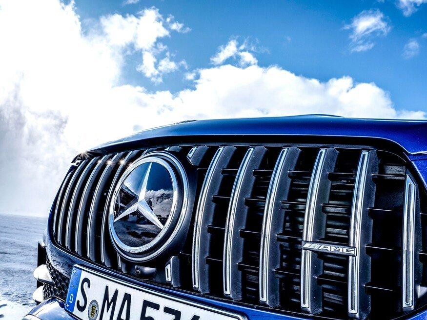 Đánh giá xe Mercedes-AMG GLE 53 2020: lưới tản nhiệt 2
