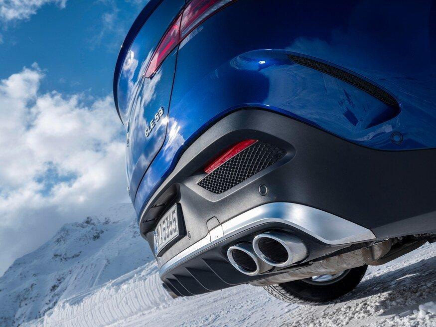 Đánh giá xe Mercedes-AMG GLE 53 2020: ống xả