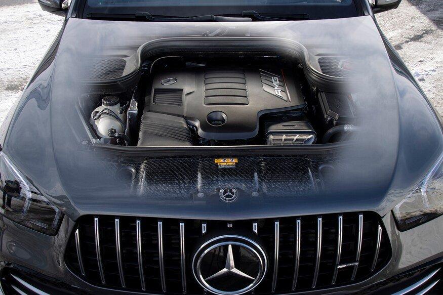 Đánh giá xe Mercedes-AMG GLE 53 2020: động cơ xe