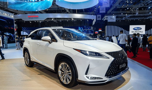 Lexus RX 450h 2020 vừa ra mắt tại VMS 2019.