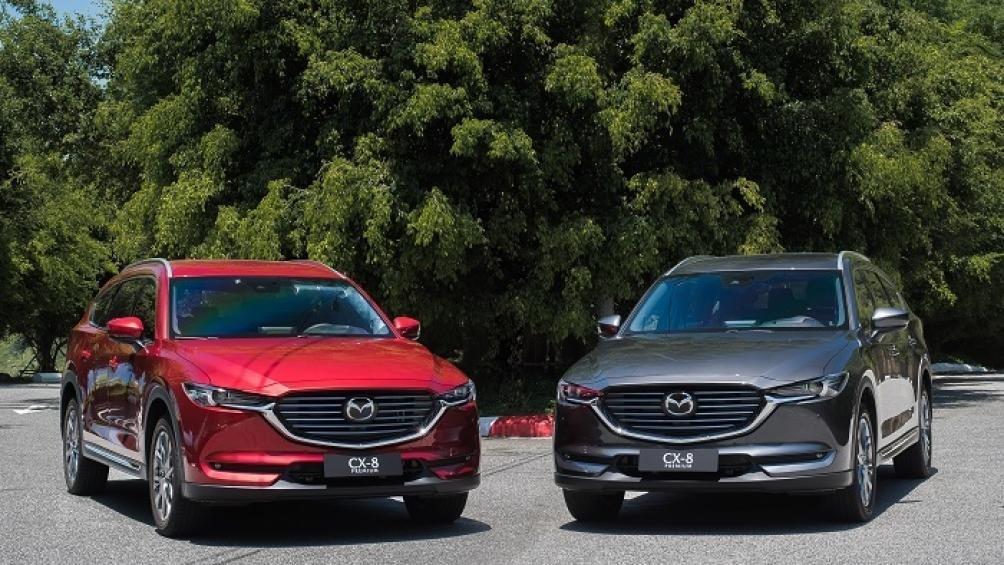 Thông số kỹ thuật Mazda CX-8 2021 vừa ra mắt Việt Nam a2
