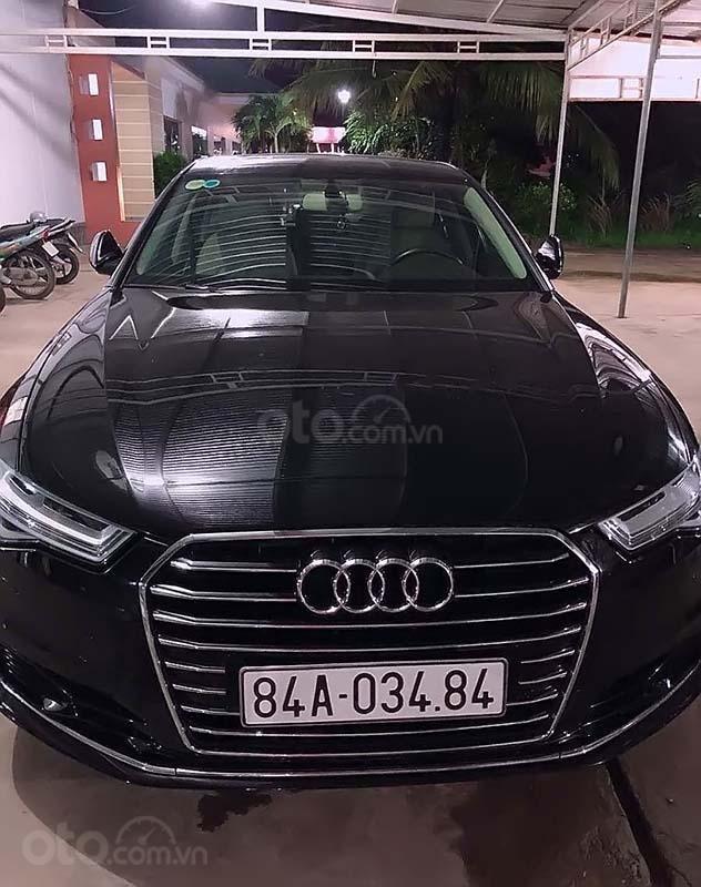 Cần bán xe Audi A6 sản xuất năm 2015, màu đen, nhập khẩu chính chủ (1)