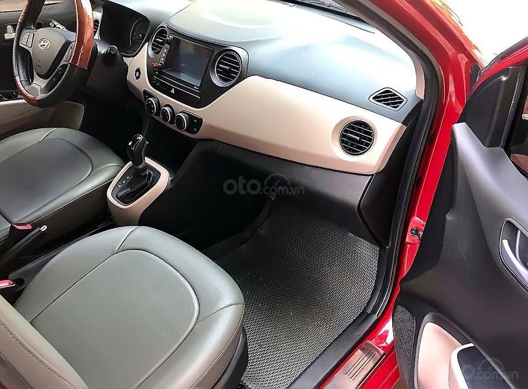 Cần bán Hyundai Grand i10 1.0 AT sản xuất năm 2016, màu đỏ, nhập khẩu nguyên chiếc như mới (5)