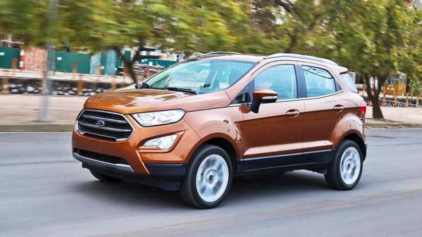 Ford Ecosport: Ưu đãi cao nhất 45 triệu đồng.