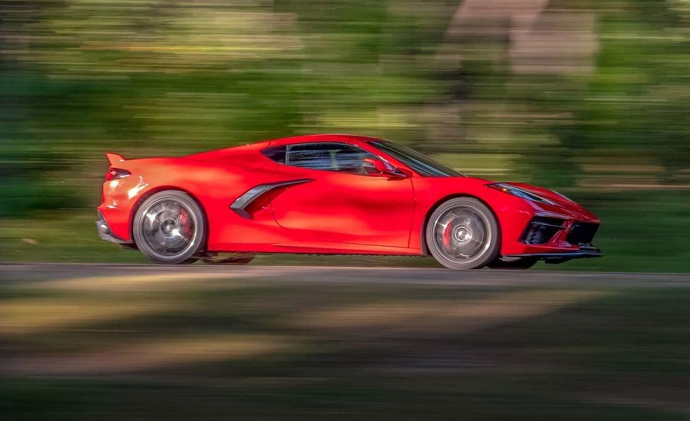 10. Chevrolet Corvette 2020.