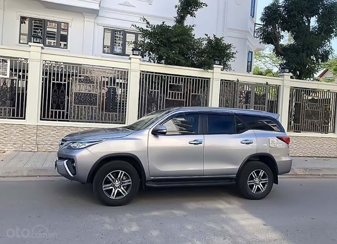 Bán Toyota Fortuner MT 2018, màu bạc, nhập khẩu nguyên chiếc  (2)